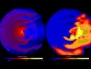 Supercomputer Simulations of Eta Carinae
