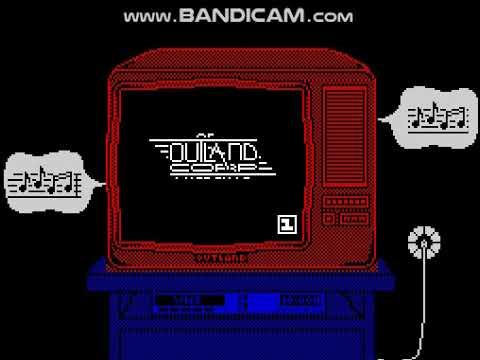 Заставка игры Поле Чудес ZX Spectrum