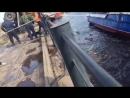 Неудачный спуск на воду