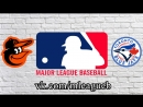 Baltimore Orioles vs Toronto Blue Jays 20 08 2018 AL MLB 2018 1 3