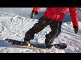 Snowboard Addiction| Buttering (Goofy) - How To Ride In The Buttering Position Goofy