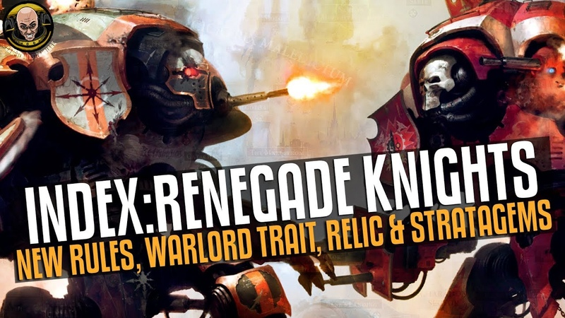 Renegade Knights are HERE! You shall BE PURGED!