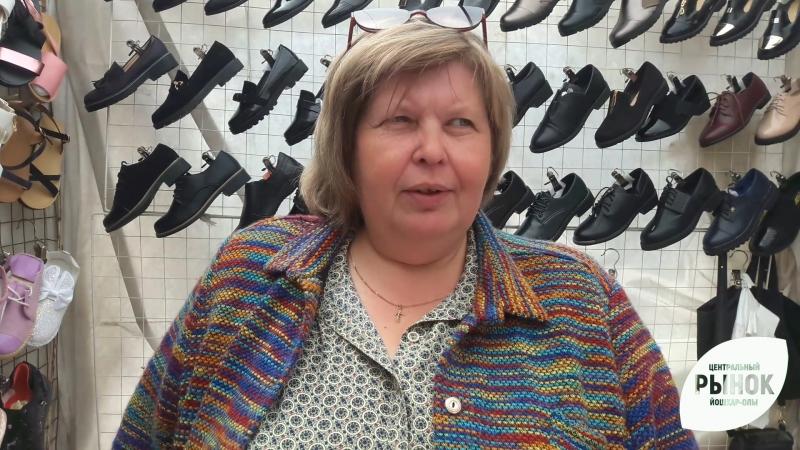 Ольга Винокурова, победитель конкурса Лучший продавец рынка 2017