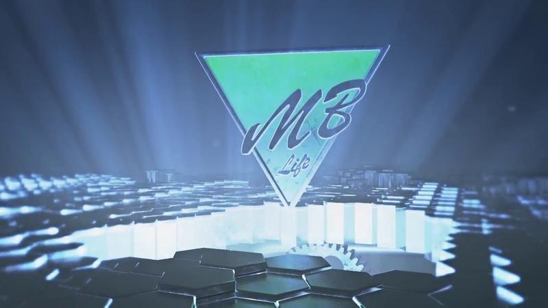 3D логотип лейбла MB - Life music