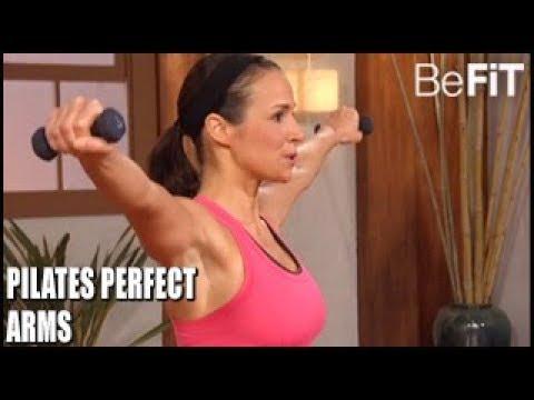 Pilates Perfect Arms Workout 10 Min Solution- Suzanne Bowen