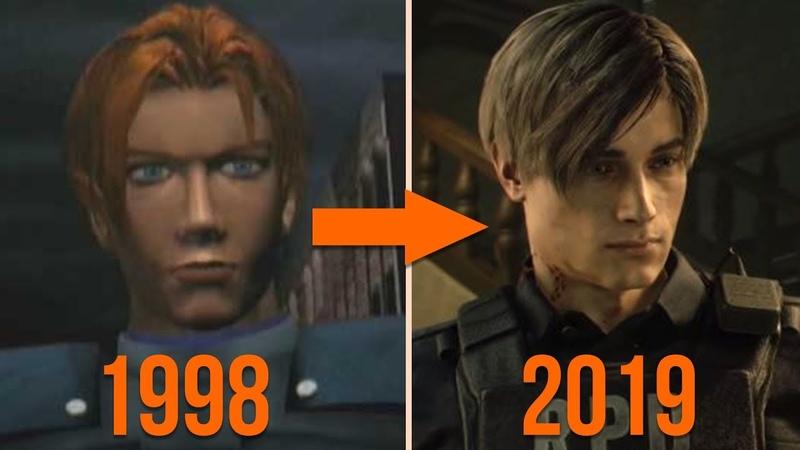 Resident Evil 2 Remake VS Resident Evil 2 (1998) Comparison
