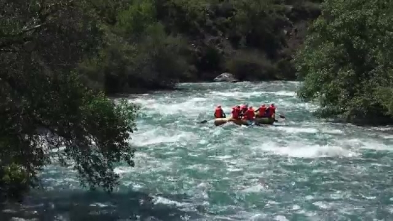 The Chilik river Rafting 4K Рафтинг по реке Чилик-eeclip-scscscrp