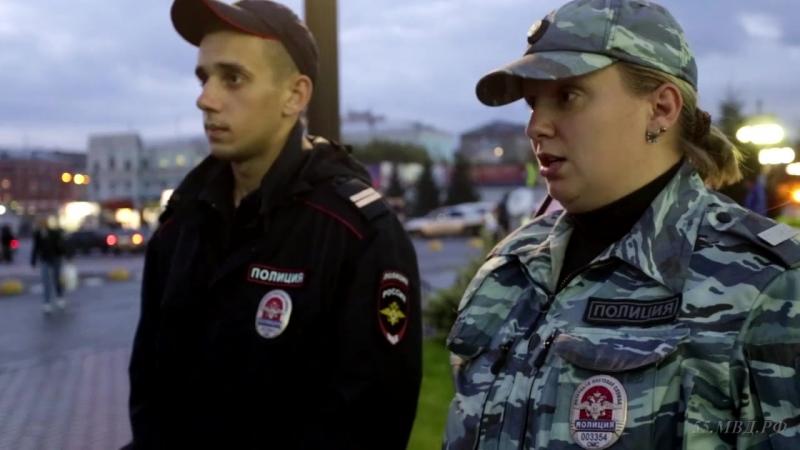 Выйти на след подозреваемого в грабеже сотрудникам ППСП помогла Азалия