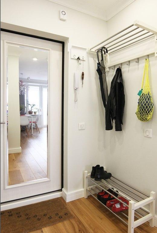 Дизайн 1-комнатной квартиры 33 кв.