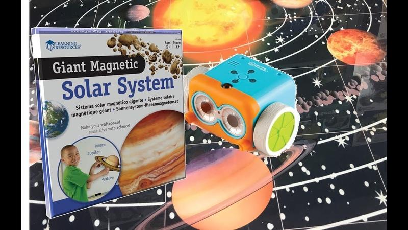 Солнечная система и робот Ботли. Урок английского языка