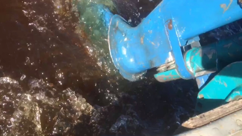 Упор для прохождения мелководья ПЛМ Ветерок