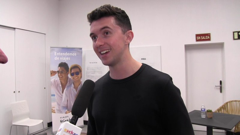 ESCKAZ in Madrid: Interview with Ryan O'Shaughnessy (Ireland)