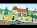 Кид vs Кэт - Лазерный коготок - Серия 2 , Сезон 2 _ Короткая анимация Disney