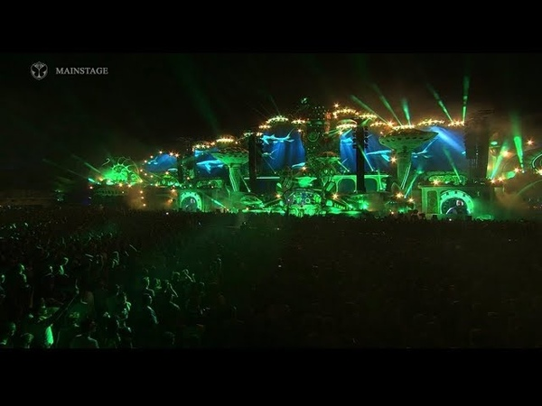 180720 BTS - The Truth Untold Remix by Steve Aoki | Tomorrowland LIVE