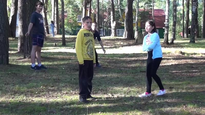 Лагерь 3 смена 2016 Игра.Конкистадоры против индейцев