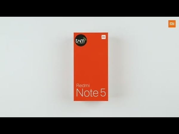Xiaomi Redmi Note 5 Global Version - First look and Short unboxing video!