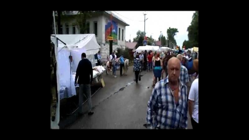Кадников Петровская ярмарка 1 часть
