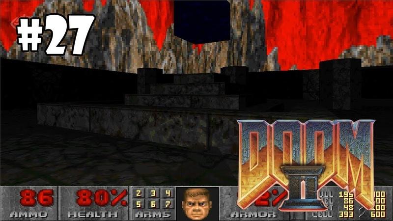 Doom II: Hell on Earth прохождение игры - Уровень 25: Bloodfalls (All Secrets Found 100%) » Freewka.com - Смотреть онлайн в хорощем качестве