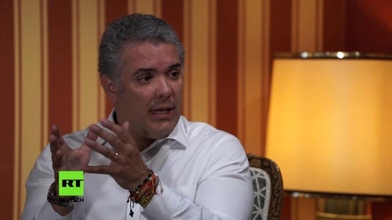 Kolumbiens gewählter Präsident Iván Duque zu RT: Ich ändere die Spielregeln nicht