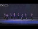Детские современные танцы, группа КристаллELTс номером А. Вивальди. Зима