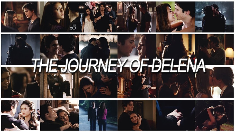 A once in a lifetime love || The Journey of Damon Elena [1x01-6x22]