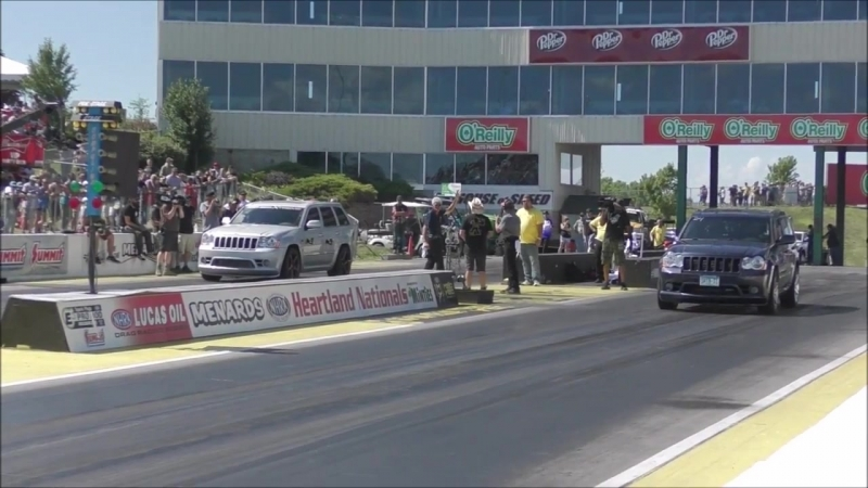 AZN Jeeper Sleeper vs Boosted Jeep at Topeka No Prep Kings 2