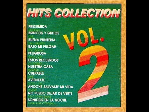 HITS COLLECTION 83 *HITS COLLECTION VOL.2* ACETATO RIPEED (MUSART LABEL EDIT)