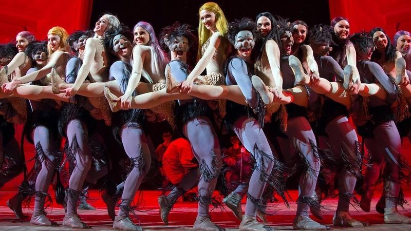 Ночь на Лысой горе одноактный балет. ГААНТ имени Игоря Моисеева.