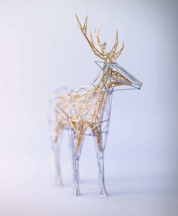 3D скульптуры от Mat Szulik
