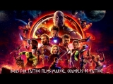 MARVEL THEME for Tattoo and tattoo ideas by Tattoo Studio HELIOS