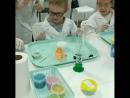 Вот такие ребята были в нашей лаборатории сегодня. Задорные, веселые, с неподдельным интересом и удивлением наблюдали за ходом х