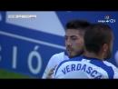 Реал Сарагоса Альбасете Баломпье 1 0 гол Георгия Папунашвили голевая Борхи Иглесиаса