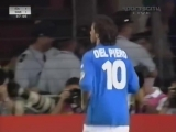 Евро-2000. Алессандро Дель Пьеро (Италия) - гол Швеции