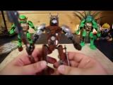 ОГРОМНЫЕ Лего черепашки ниндзя сборные фигуры ИЛИ это Lego китайское.mp4