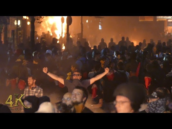 Germany G20 Extended 2 hour raw footage of infamous Hamburg riots - July 2017