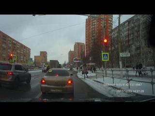 Пешеходы в Щёлково ч. 2