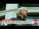 Assange's refuge in Ecuadorian embassy 'in jeopardy'