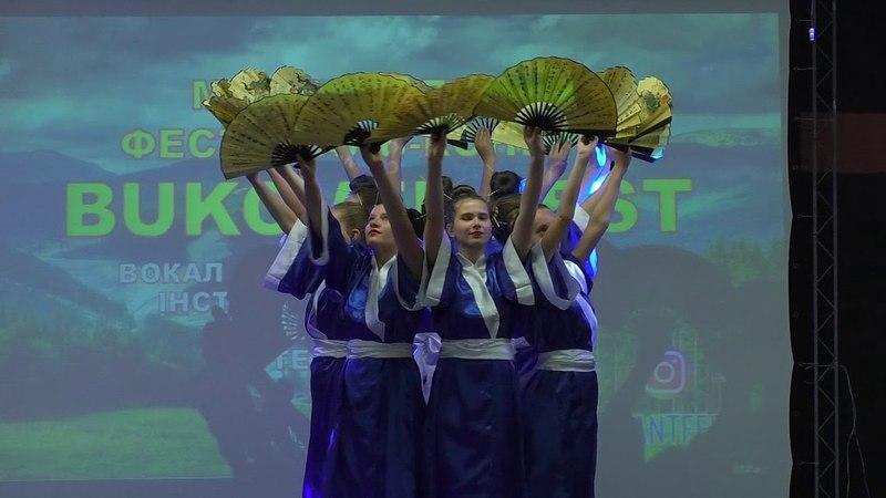 КОЛЕКТИВ «ШАЛУНІШКИ» - Японський народний танець