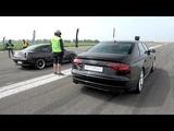 605HP Audi S8 Plus vs 586HP Fiat Coupe 20V Turbo vs BMW M3 vs Audi S6