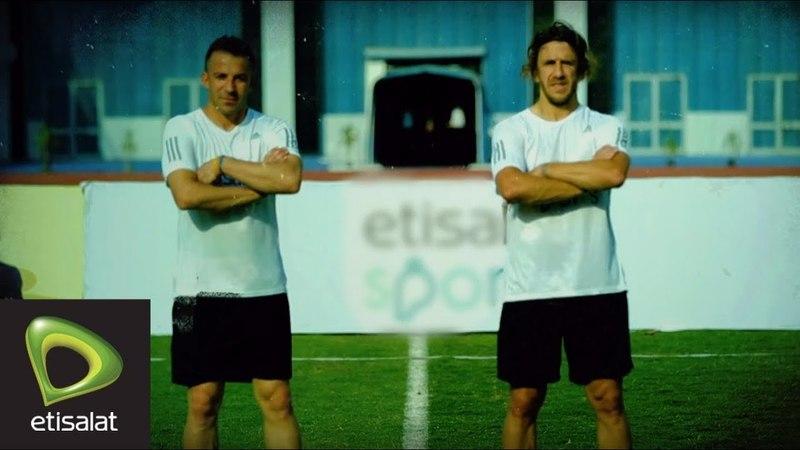 خدمة رقم 1 – تحدي Carles Puyol و Alessandro Del Piero