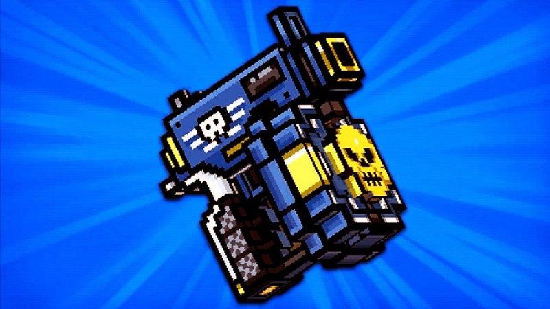 Pixel Gun 3D. Shotgun pistol [Review]