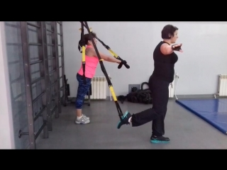 Ирина и Инга. Сплит тренировка. Баланс и сила.