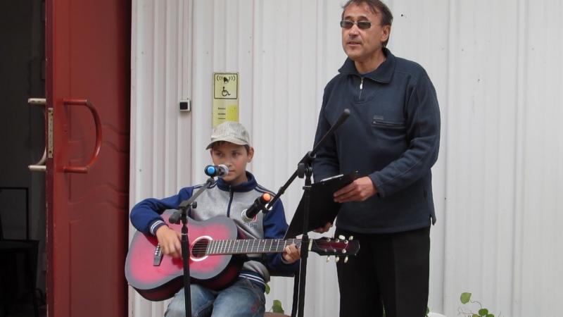 Экологический праздник Сова собирает друзей Выступление Кирилла Санаева и его педагога В Е Шабалдина