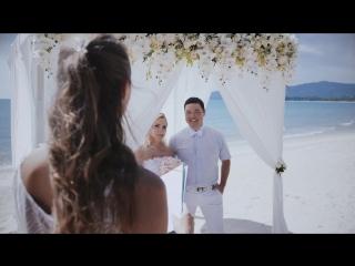 Temirzhan & Olya Samui Wedding