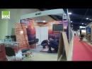 Монтаж стенда Герметекс на международной выставке в Москве WorldBuild Moscow Mosbuild 2018 3 6 апреля 2018