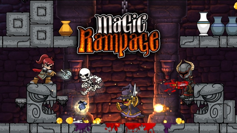 Magic Rampage Gameplay Teaser