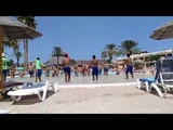 Caribbean World Borj Cedria Tunisia Тунис 2018 клубный танец