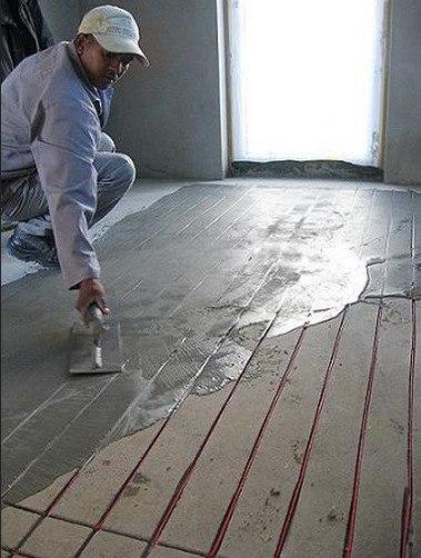 Как сделать наливной пол на деревянный пол.
