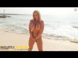 Melissa Debling - Naked On The Beach шикарная голая блондинка и ее зачетные большие сиськи с упругой жопой на фотосесси не порно
