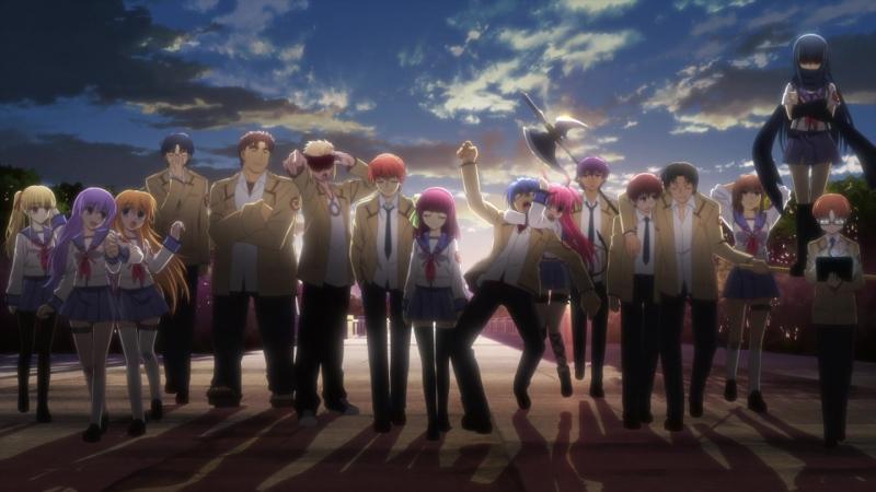 Angel Beats! NCED 1080P